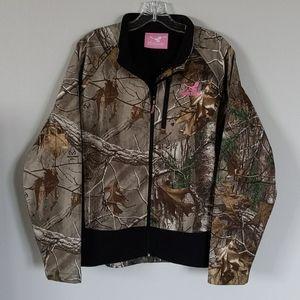 Realtree Kings River Fleece Lined Camo Jacket